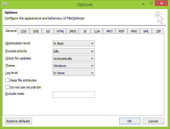 Fileoptimizer 2.10.135 - фото 8