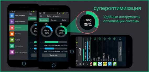 оптимизация андроида