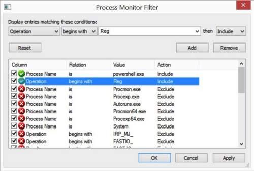 фильтрация_Process_Monitor