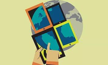 географические данные на смартфоне