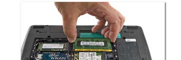 Как заменить память ноутбука