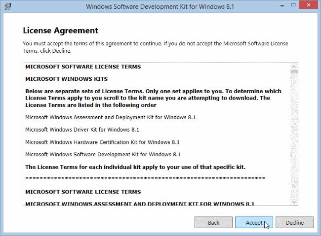 windows-software-development-kit