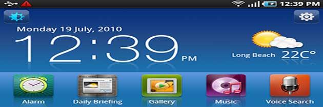 Настройка домашнего экрана в Android