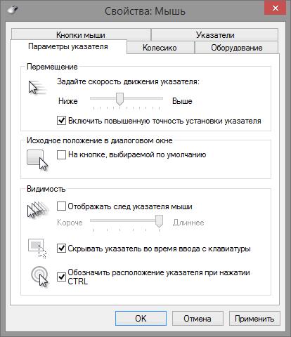 свойства_мыши