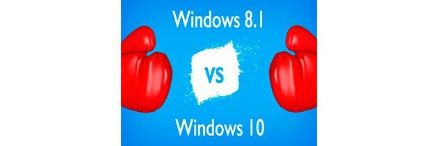 Windows 10. Основные изменения и сравнение с Windows 8.1