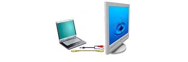 Как подсоединить ноутбук к ТВ
