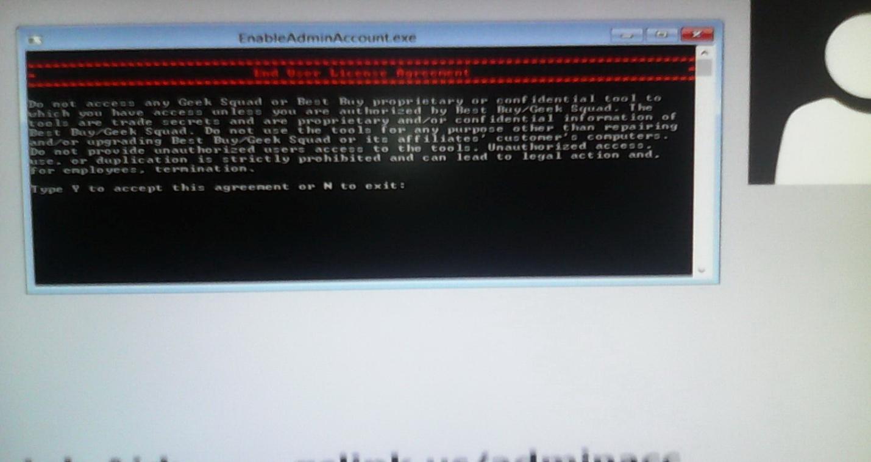 Получение прав Администратора в Windows 8.1 2