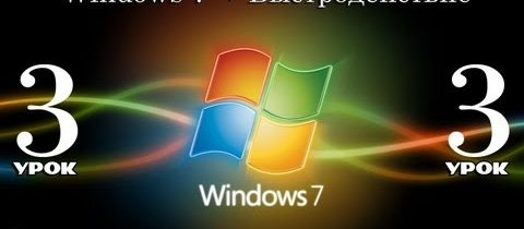 Быстродействие операционной системы Windows