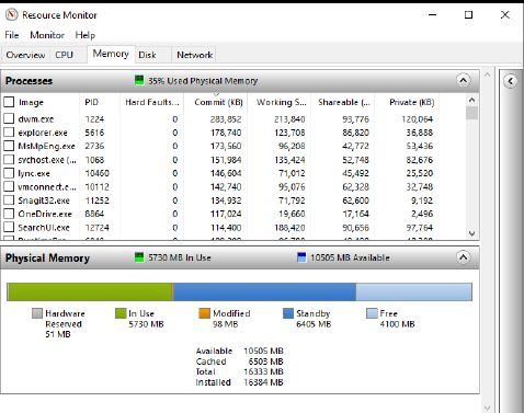 монитор-ресурсов-память