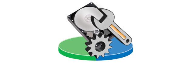 Основные задачи управления дисками