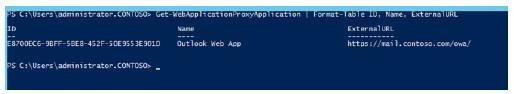 Get-WebApplicationProxyApplication