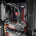 Установка материнской платы, CPU и RAM