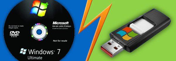 CD-ROM область на USB-флэшке