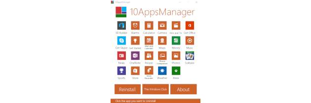 Разные виды приложений Windows 10