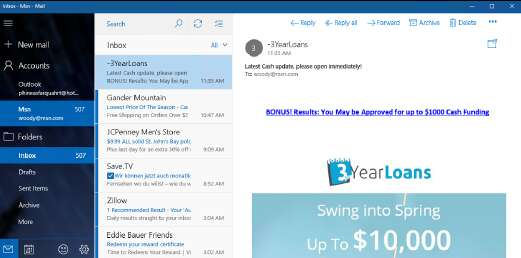 Universal Windows Mail