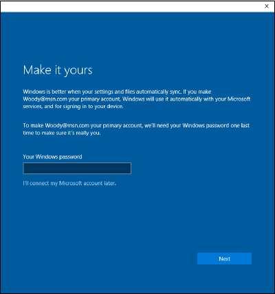 создать учётную запись Microsoft