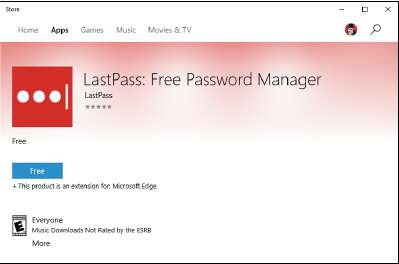 Расширение LastPass