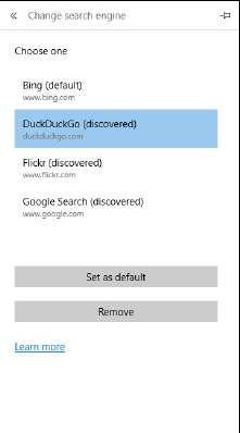 изменить поисковую систему