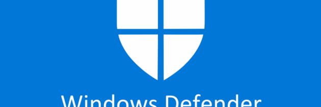 Защитник Microsoft Windows Defender от Microsoft