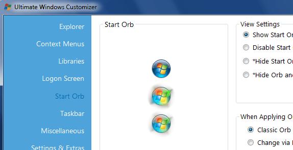 Windows Ultimate Context Menu Customizer