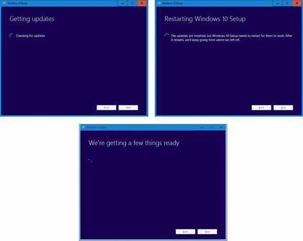 Windows 10 restarting