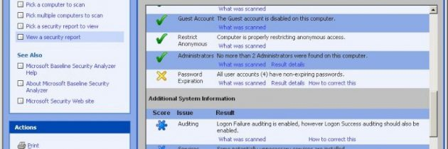 Microsoft Security Baseline