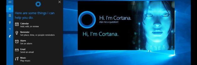 Сброс поиска Cortana в Windows 10