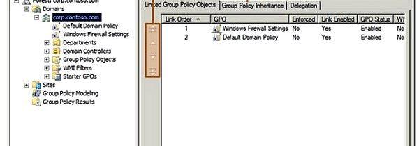 Наследование групповой политики